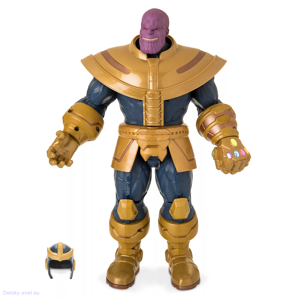 Disney mluvící figurka Thanos - Iron man
