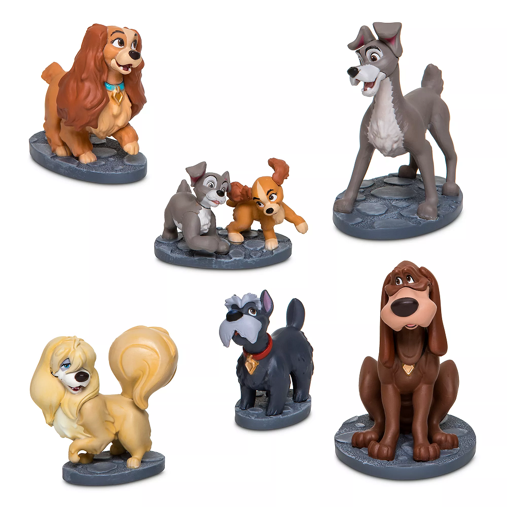Disney figurky Lady a tramp