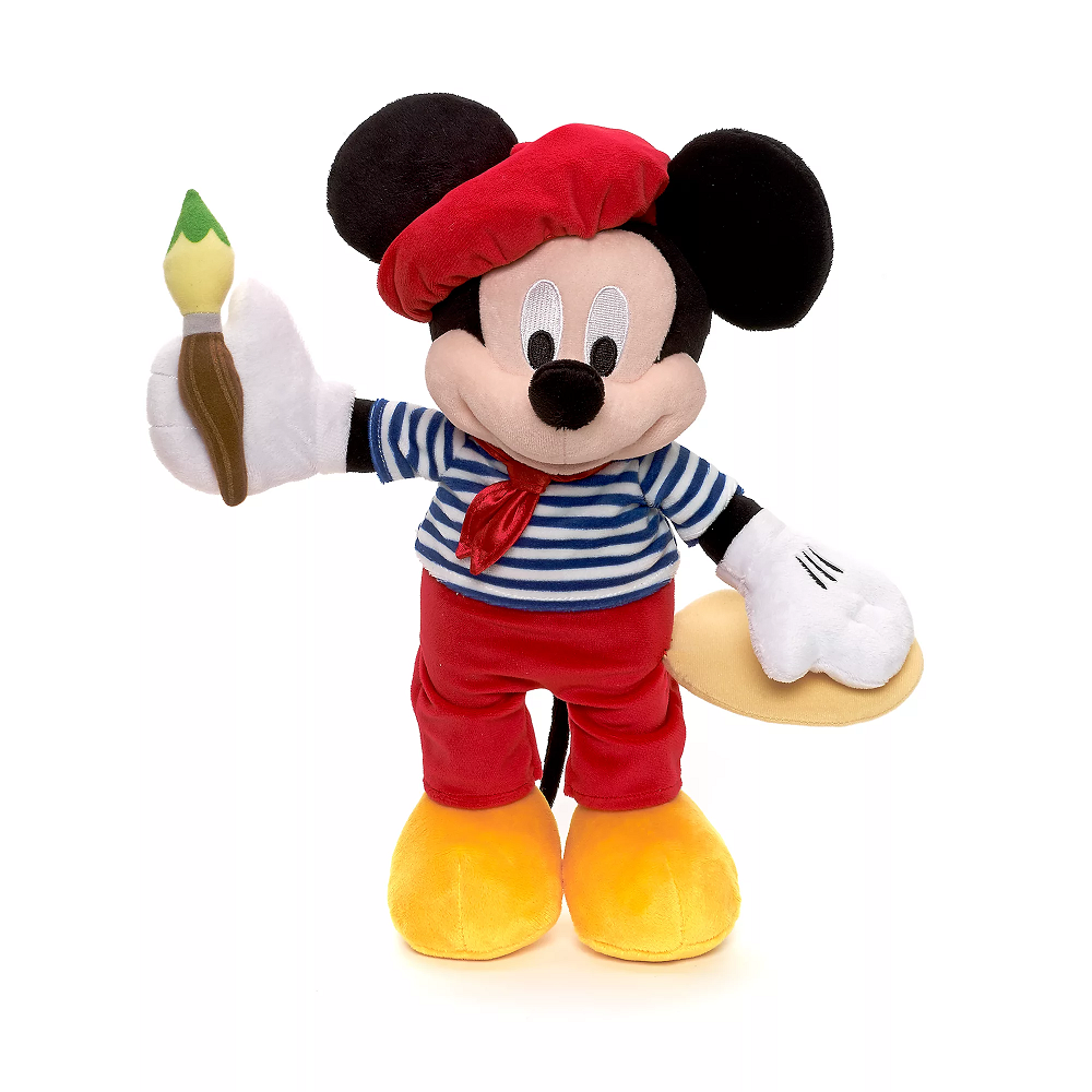 Disney Mickey Mouse malíř plyš